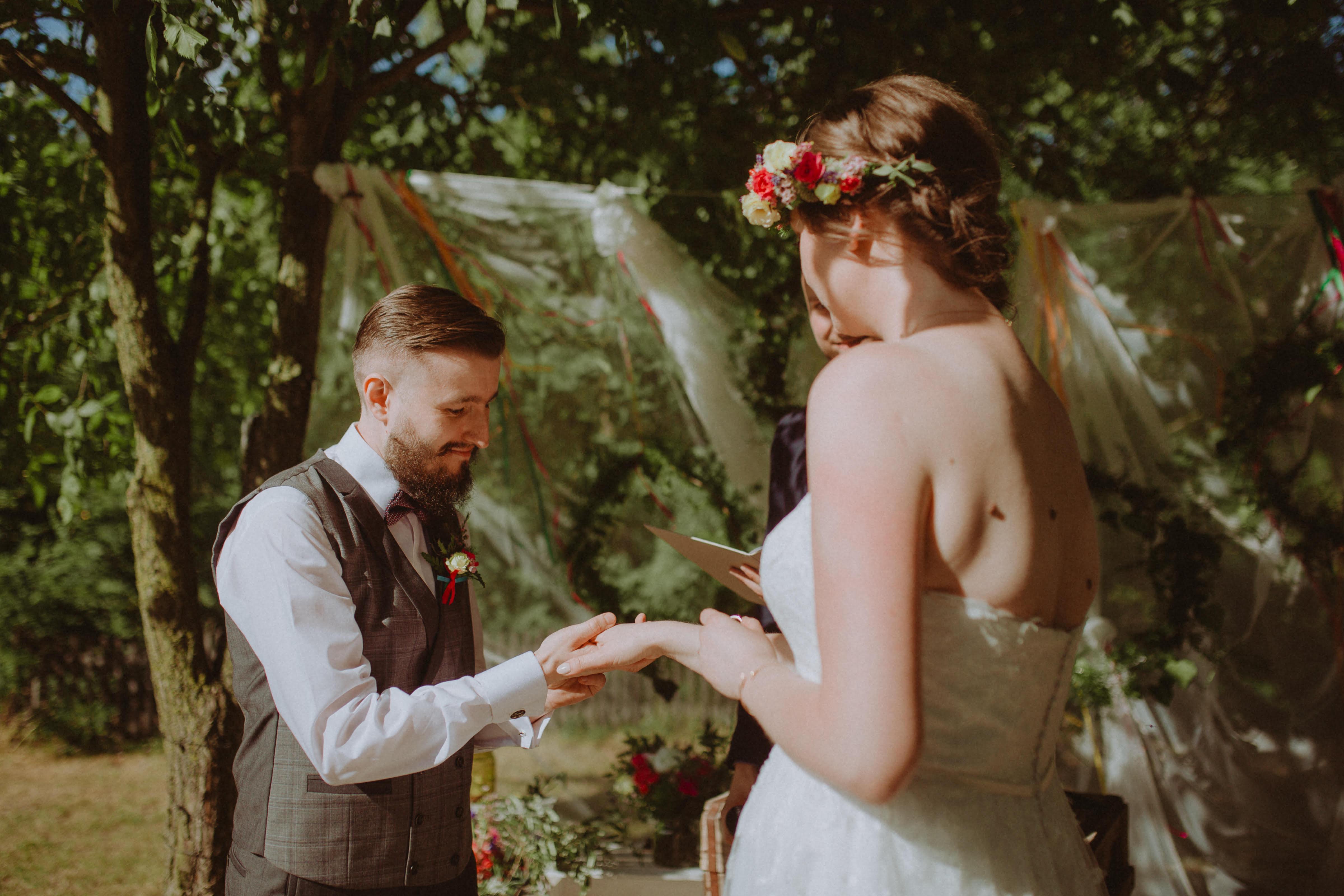 zdjęcie - odnowienie przysięgi małżeńskiej
